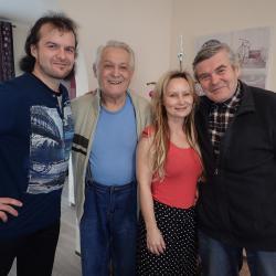 Návštěva kouzelníků - K.Kašpar, Duo Carlos - Věra a Karel 01/16