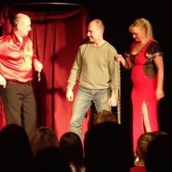 Kouzelnické vystoupení - Wendy, Eliška a Jirka