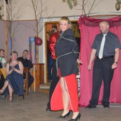 Kouzelnické vystoupení - ples v Dolanech