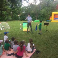 Kouzelník na Dětském dni