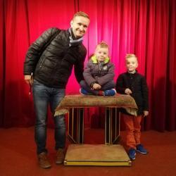 Kouzelnické představení - Kouzelný cirkus