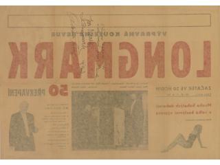 Longmark - Kouzelná revue - podepsaný plakát